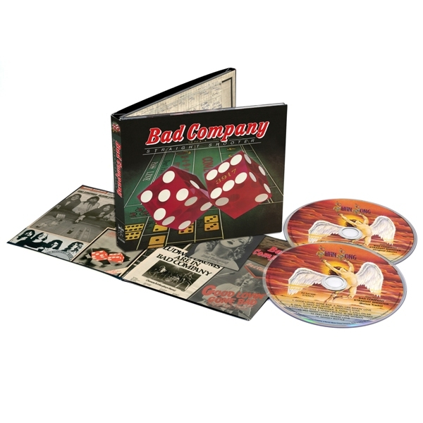 BAD COMPANY - Straight Shooter Delux Edition