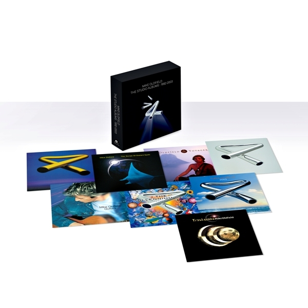 OLDFIELD, MIKE - MIKE OLDFIELD: THE STUDIO ALBUMS 1992-2003